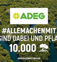 10.000 Bäume für den Klimaschutz