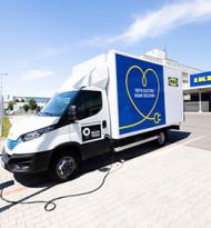 Ikea forciert mit eigener Elektrofahrzeug-Flotte  emissionsfreie Lieferung