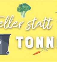 """Schramböck startet Challenge """"Teller statt Tonne"""""""