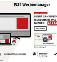 W24 launcht Werbemanager