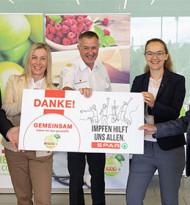 BetrieblicheImpfung bei Spar in Salzburg erfolgreich abgeschlossen