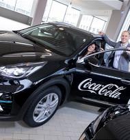 Coca-Cola HBC Österreich macht seine Fahrzeugflotte zukunftsfit