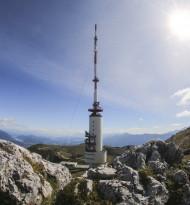 Sendeturm Dobratsch seit 50 Jahren in Betrieb