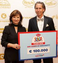Hervis spendet 100.000 Euro an die Österreichische Sporthilfe