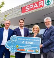 Spar übergibt 8.400 Euro-Spende an Krebshilfe Steiermark