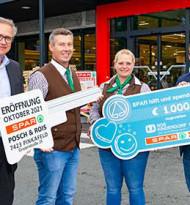 Spar-Kaufleute Posch&Rois übernahmen Filiale in Pinkafeld