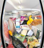 Im Einkaufskorb geht's rund: Aktion vs. Inflation
