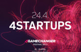 Die 4Gamechanger Pitch-Sessions am 4Startups-Tag